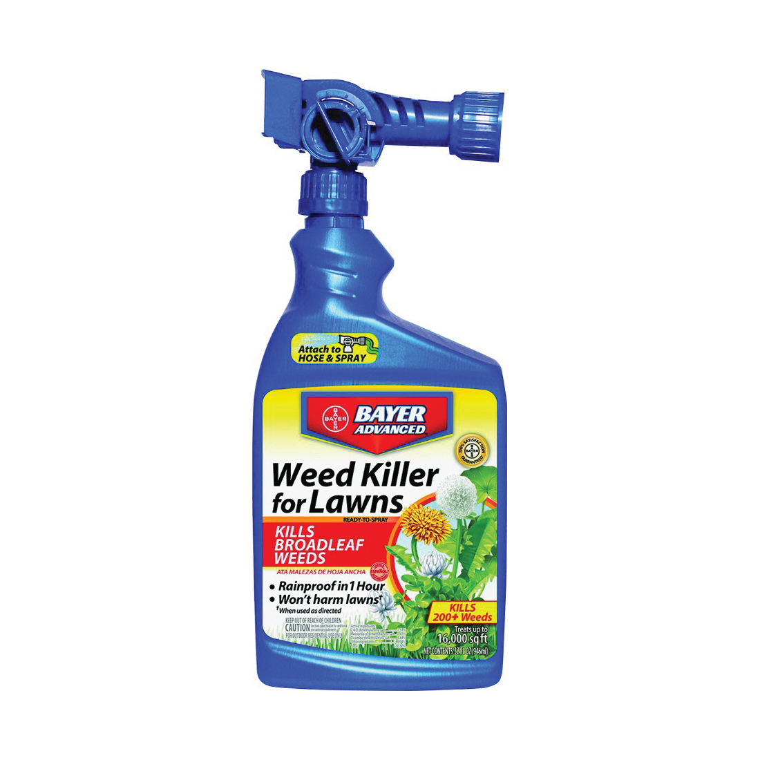 Picture of BioAdvanced 704170A Weed Killer, Liquid, Spray Application, 32 oz Package