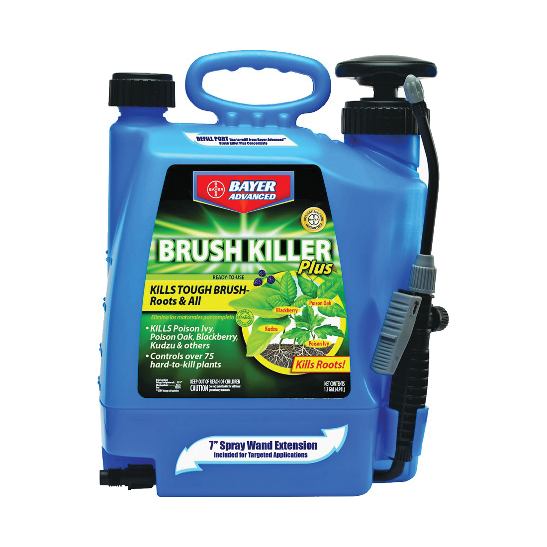 Picture of BioAdvanced 704701A Brush Killer, Liquid, Light Yellow, 1.3 gal Package, Bottle