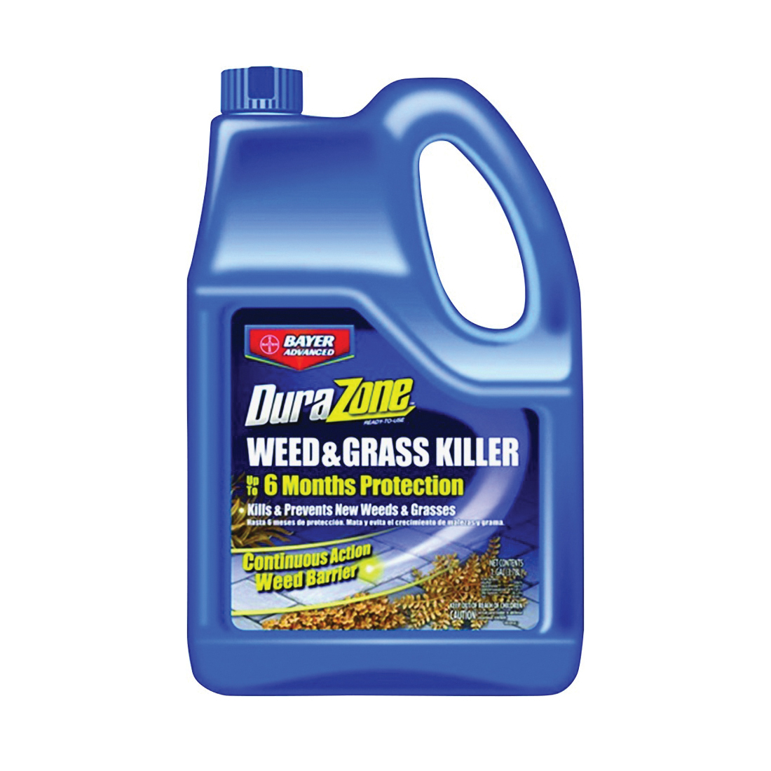 Picture of BioAdvanced DuraZone 704375A Weed and Grass Killer, Liquid, Light Beige/White, 1 gal Package, Bottle