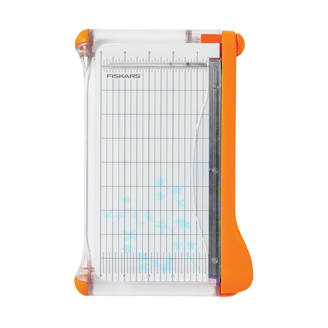 Picture of FISKARS 199130-1001 Paper Trimmer, 9 in L, 8 in W Paper, 8-1/2 in L Cutting
