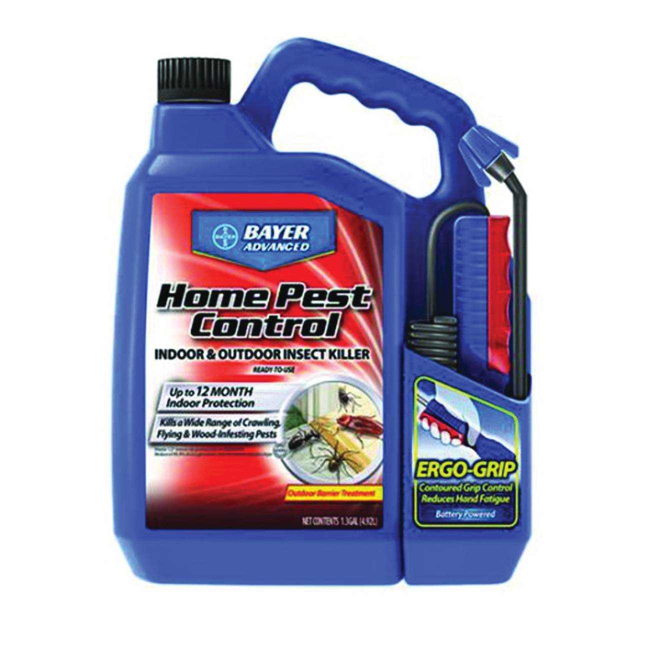 Picture of BioAdvanced 502798A Insect Killer, Liquid, Spray Application, 1.3 gal Package, Bottle