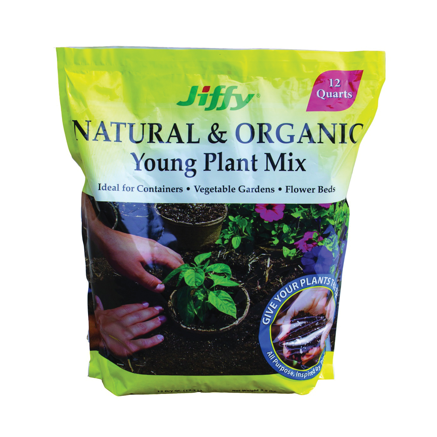 Picture of Jiffy G712-48 Potting Mix, 12 qt Package