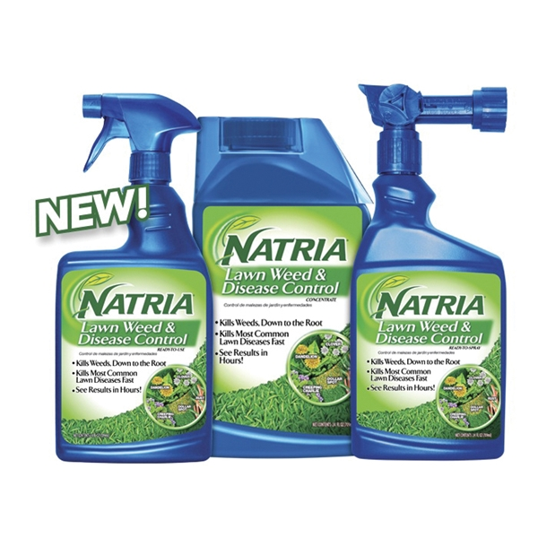 Picture of BioAdvanced Natria 706400D/706400A Ready-To-Spray Weed Killer, Liquid, Spray Application, 24 oz Package, Bottle