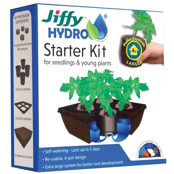 Picture of Jiffy JH4-8 Hydro Starter Kit