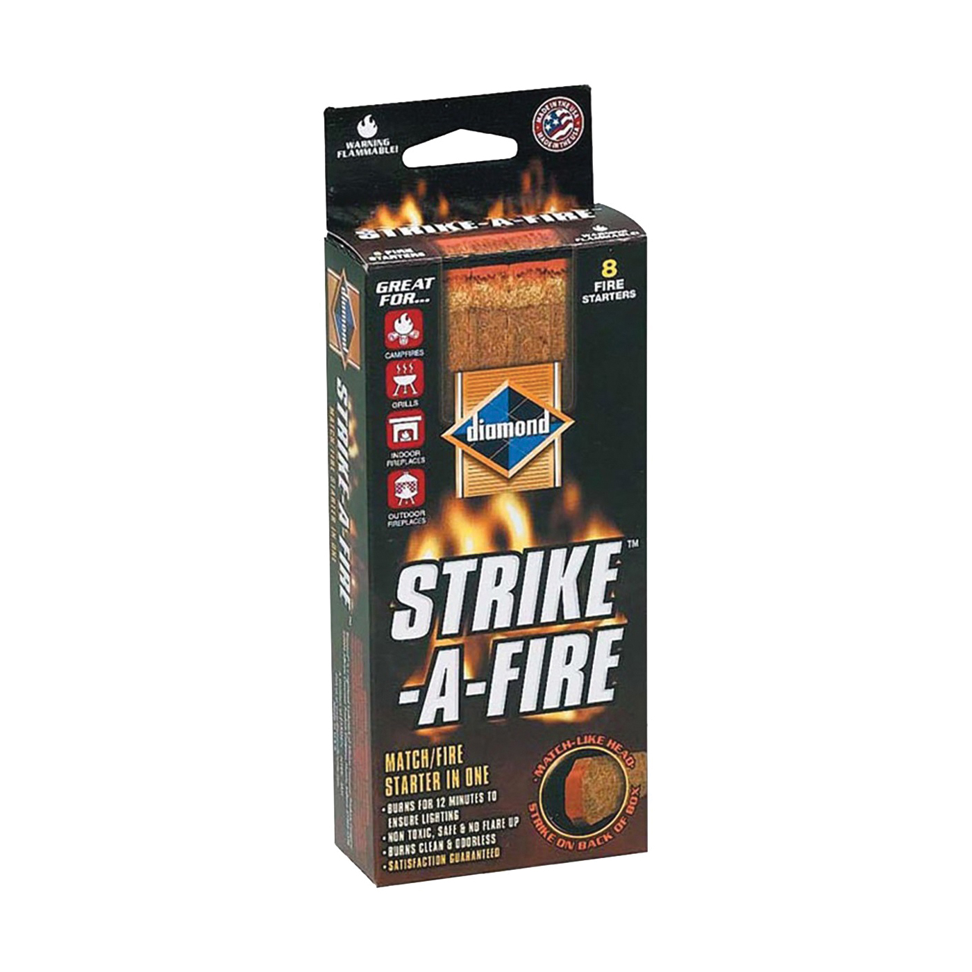 Picture of diamond Strike-A-Fire 4878911004 Fire Starter