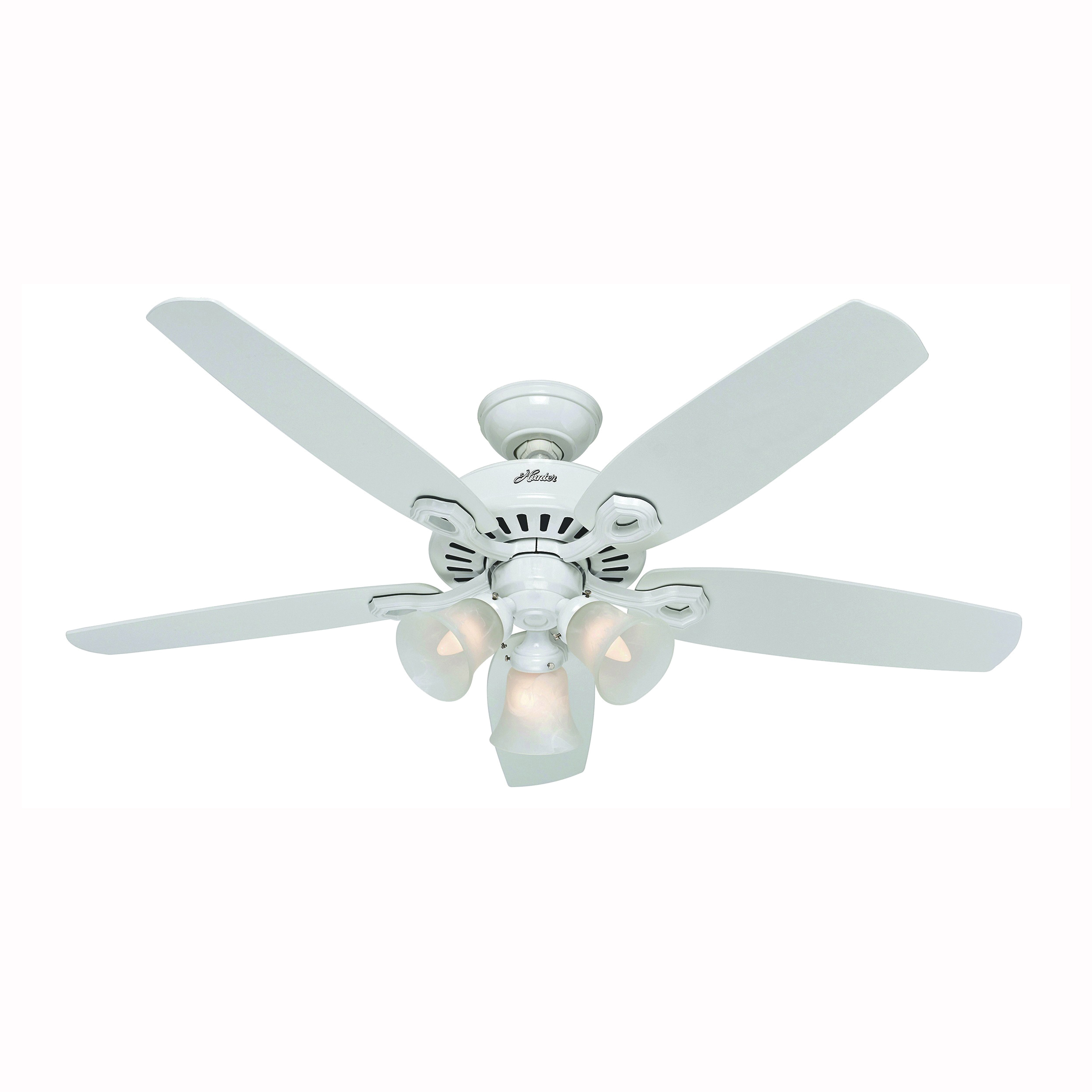 Picture of Hunter 53236 Ceiling Fan, 0.52 A, 52 in Sweep, 5049 cfm Air