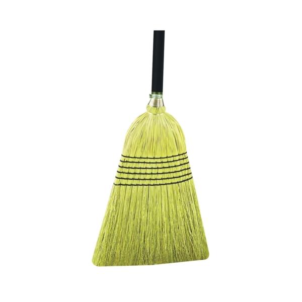Picture of Quickie 931-6 Outdoor Broom, Corn Fiber Bristle, Metal Handle