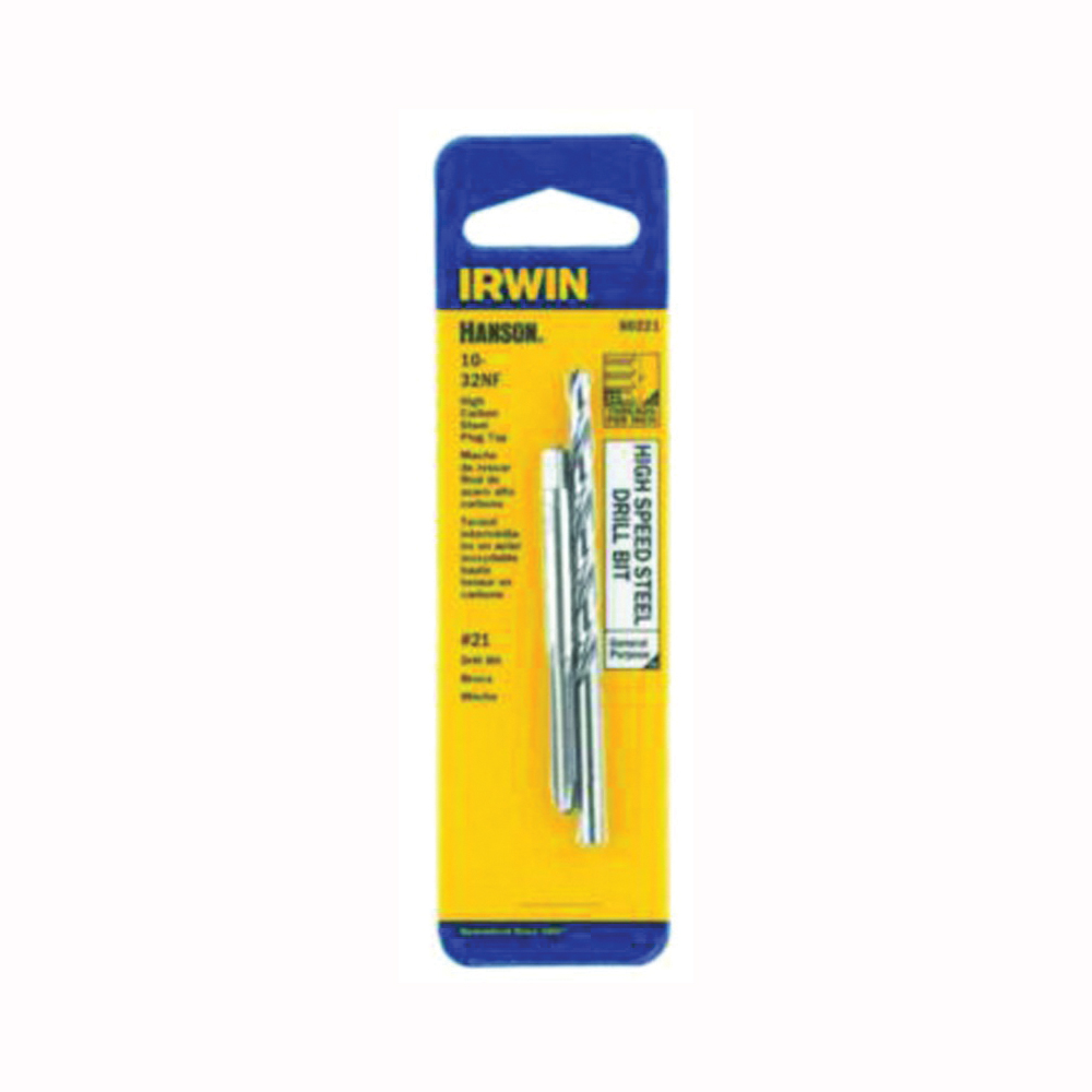 Picture of IRWIN 80221 Tap and Drill Bit Set, HCS/HSS