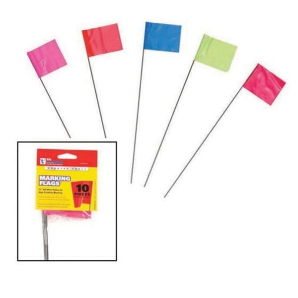 Picture of CH Hanson 15066 Stake Flag, 15 in L, Pink, PVC