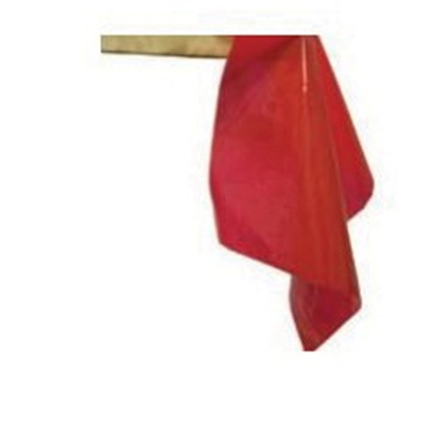 Picture of CH Hanson 10490 Lumber Warning Flag, 12 in L, 12 in W, Red, PVC