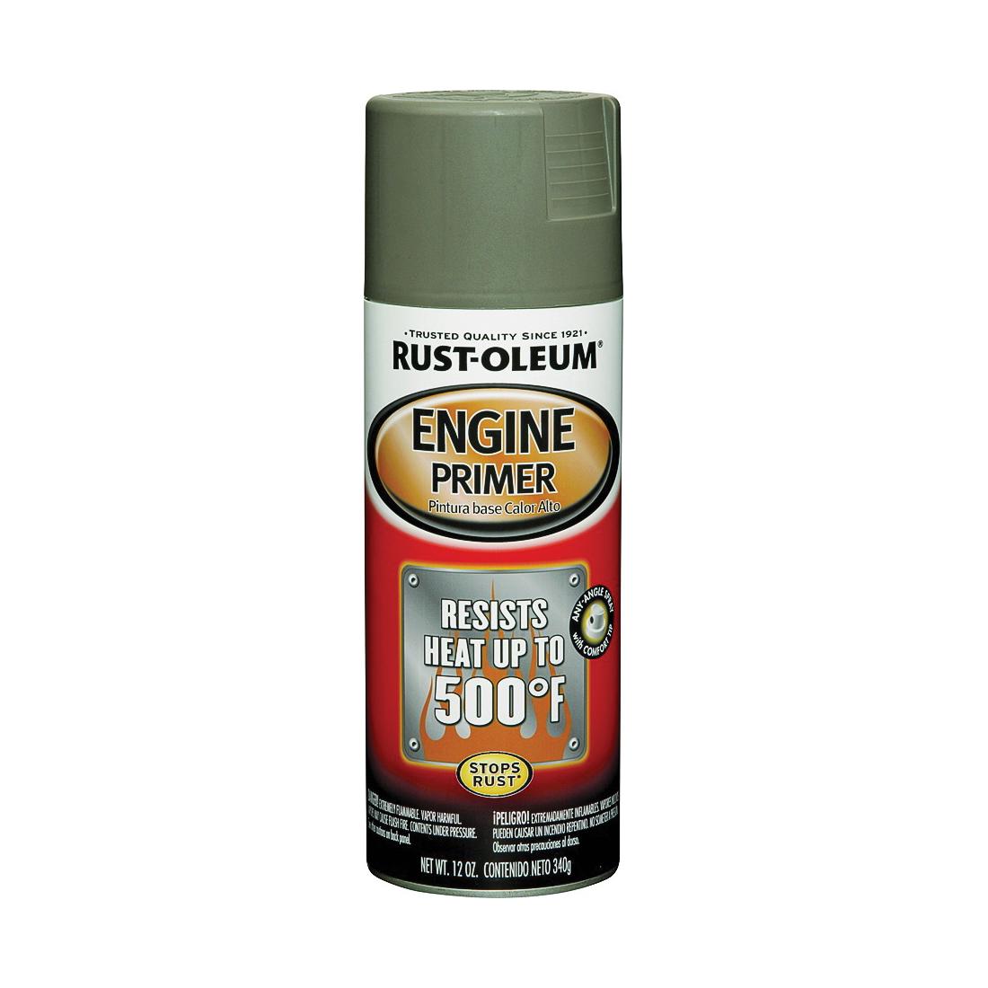 Picture of RUST-OLEUM AUTOMOTIVE 249410 Engine Primer Spray Paint, Gray, 12 oz, Aerosol Can