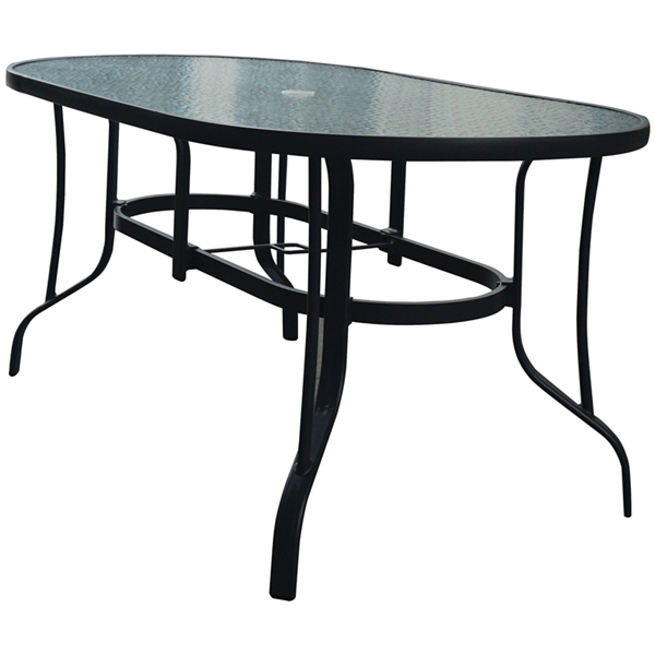 Picture of Seasonal Trends 69864 Dining Table, 36 in W, 60 in L, Glass
