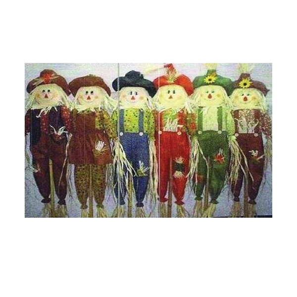 Picture of Santas Forest 66281/66105 Halloween Scarecrow Decor