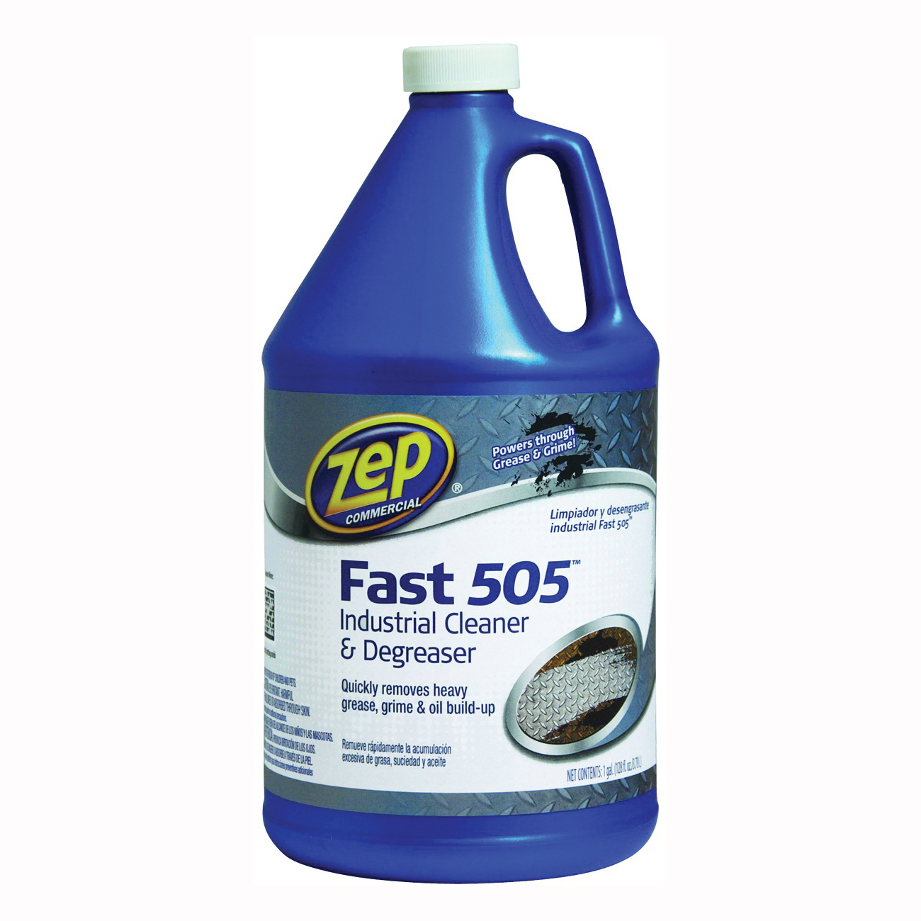 Picture of Zep ZU505128 Cleaner/Degreaser, 1 gal Package, Bottle, Liquid, Characteristic