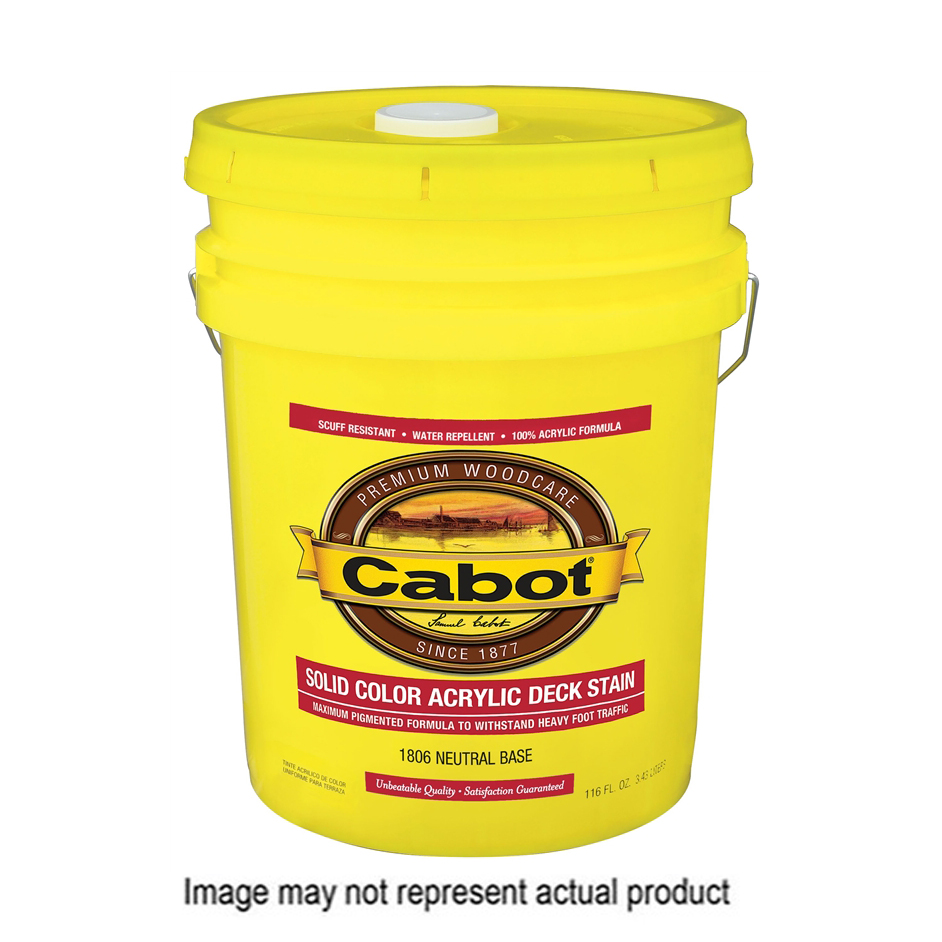Picture of Cabot 1800 Series 140.0001806.008 Decking Stain