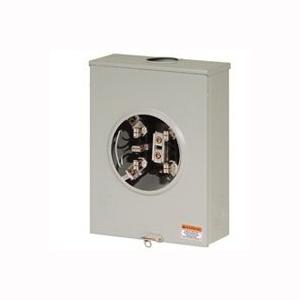 Picture of Cutler-Hammer UGHTRS213BE Meter Socket, 1-Phase, 200 A, 600 V, 5-Jaw, 1-Socket