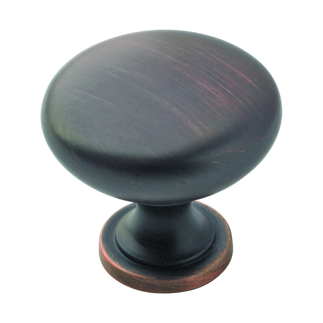Picture of Amerock BP53005ORB Cabinet Knob, 1-1/8 in Projection, Zinc, Oil-Rubbed Bronze