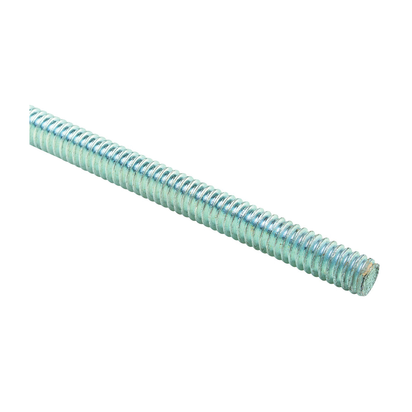 Picture of SuperStrut R Series ZR1038 Threaded Rod, Steel, Silver, Galvanized