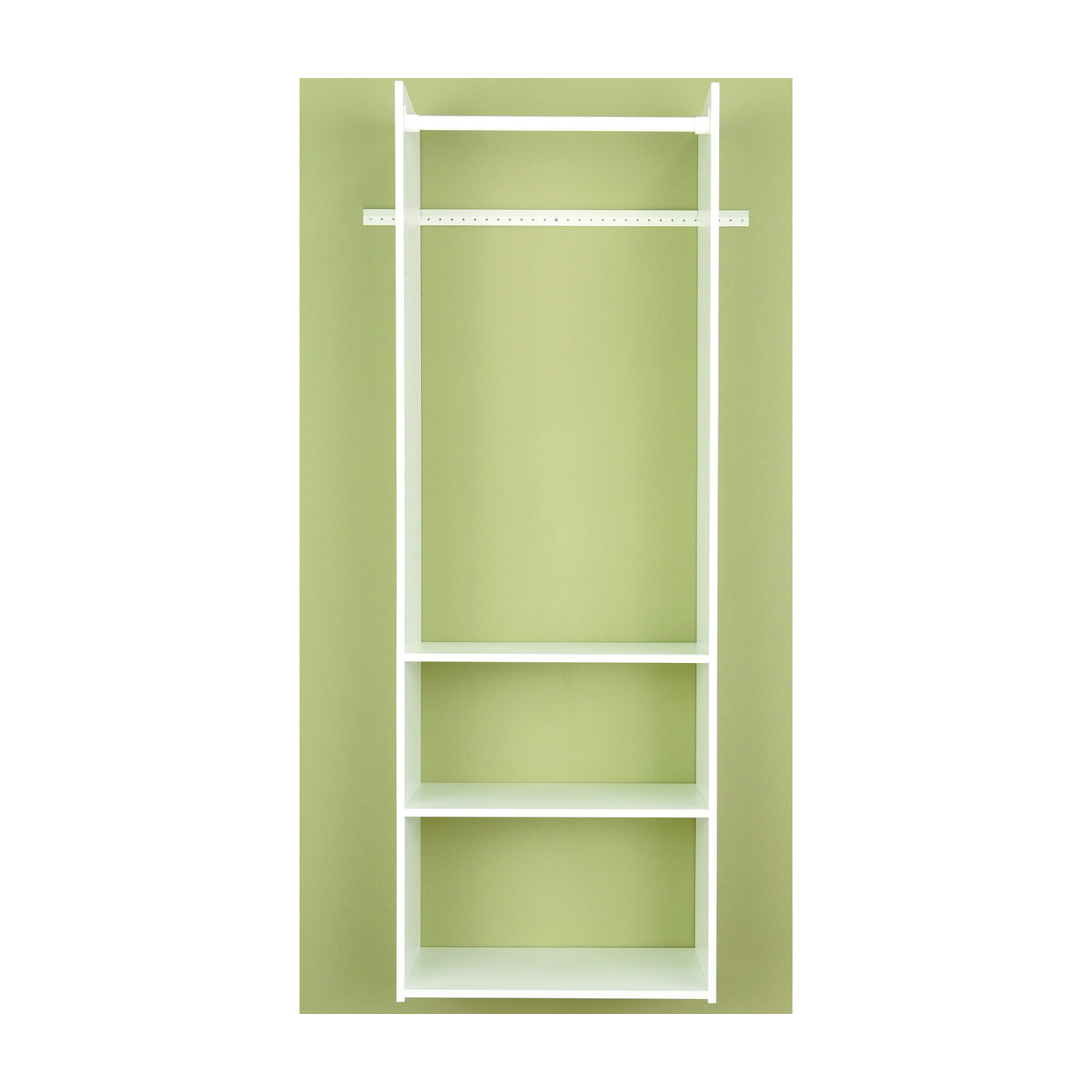 Picture of Easy Track RV1472 Tower Closet, 5/8 in W, 72 in H, 3-Shelf