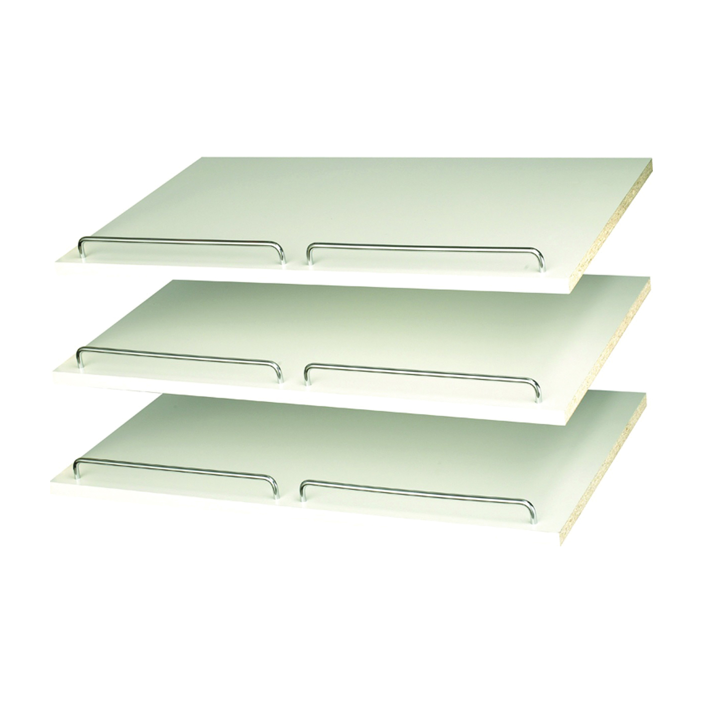 Picture of Easy Track RS1600 Shoe Shelf with Rail, 3-Shelf, 24 in W