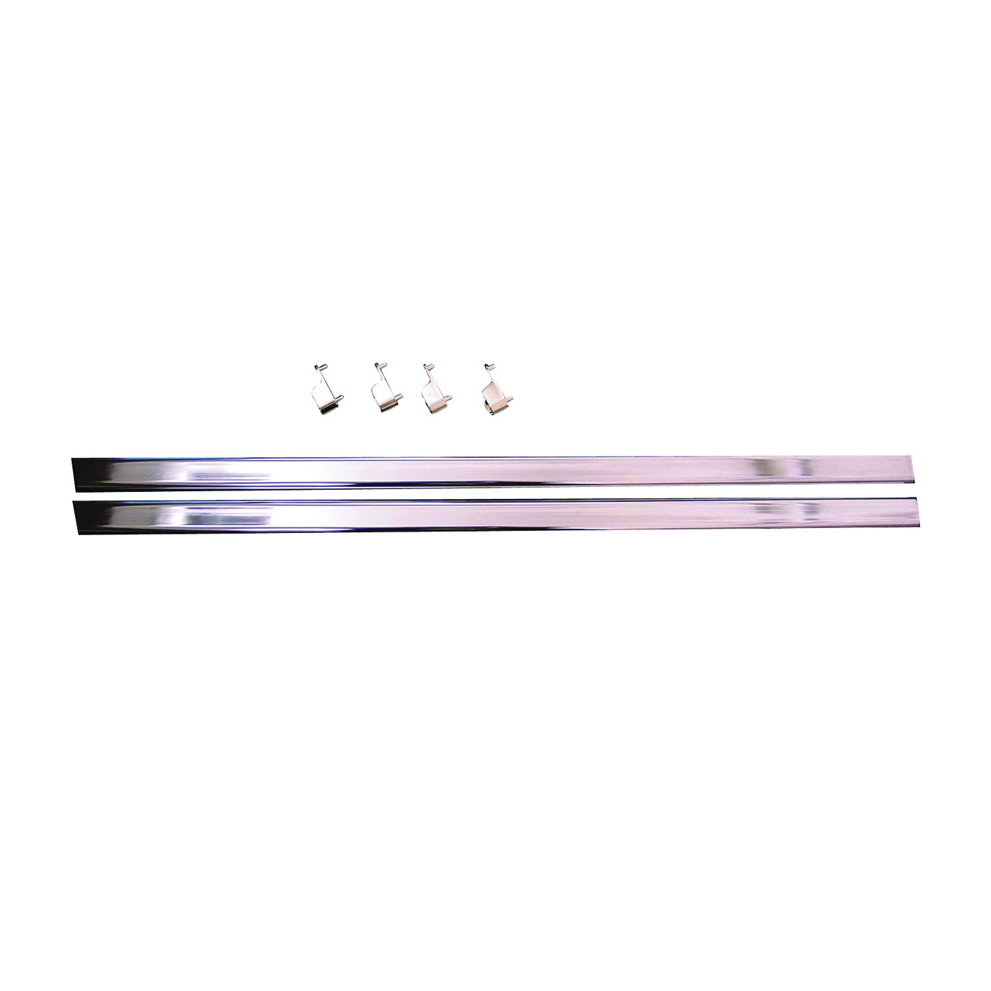 Picture of Easy Track RR1036-CH Wardrobe Rod/End, 1 in Dia, 35 in L, Steel, Chrome