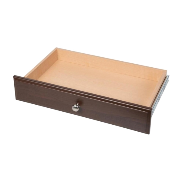 Picture of Easy Track RD04-T Deluxe Drawer, Wood, Truffle