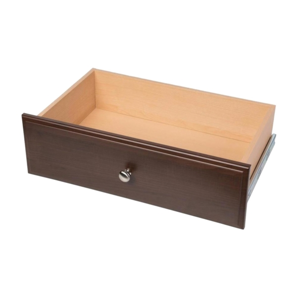 Picture of Easy Track RD08-T Deluxe Drawer, Wood, Truffle