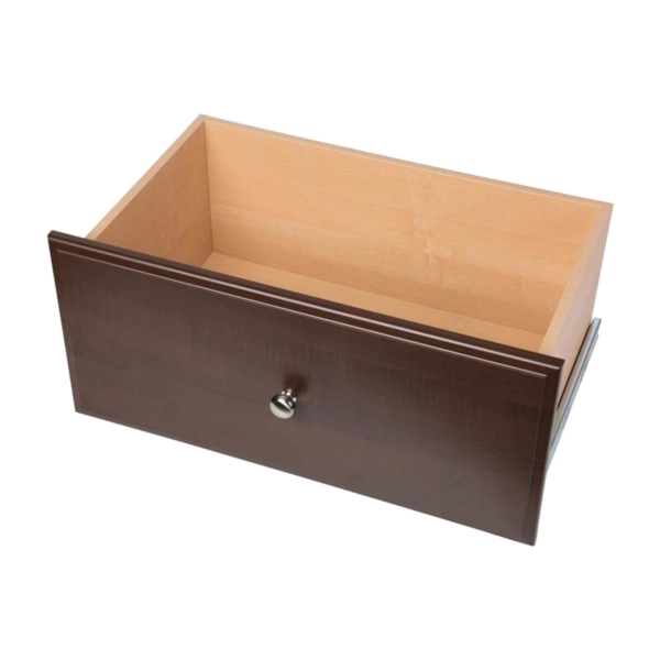 Picture of Easy Track RD12-T Deluxe Drawer, Wood, Truffle