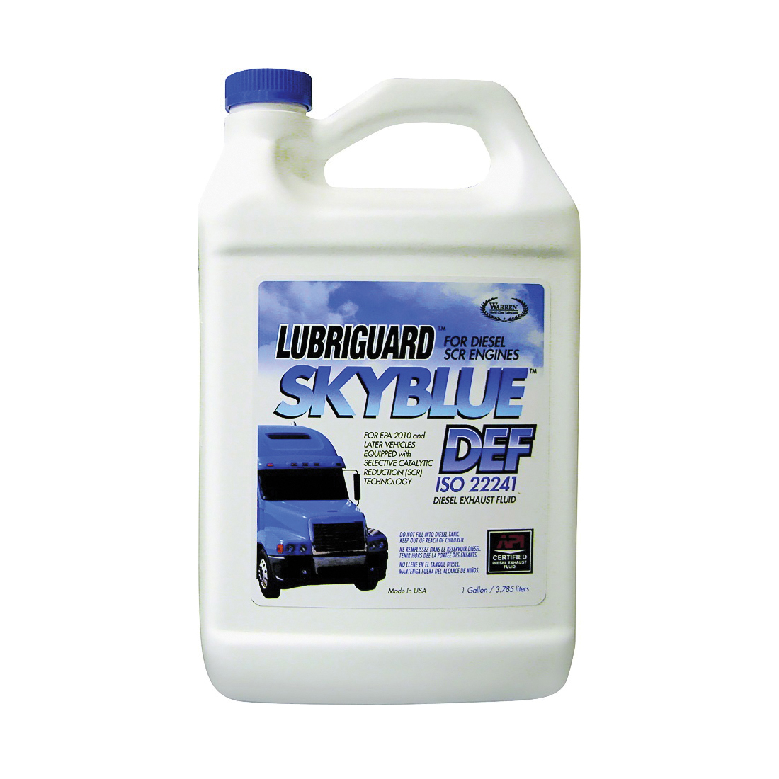 Picture of Lubriguard 720015 DEF Fuel Additive Clear, 1 gal Package