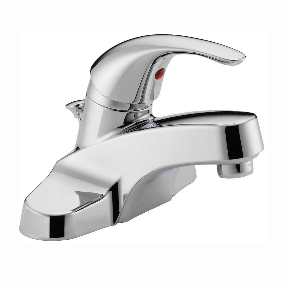 Picture of DELTA Peerless Tunbridge P188620LF Bathroom Faucet, 1.2 gpm, 1-Faucet Handle, Brass, Chrome, Lever Handle