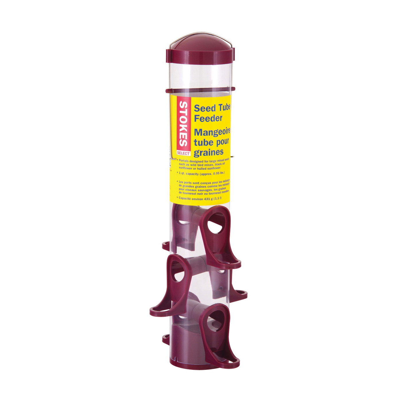 Picture of Stokes Select 38223 Wild Bird Feeder, 15 in H, 1 qt