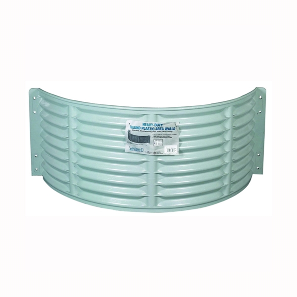 Picture of Amerimax 75210 Area Wall, 16 in L, 37 in W, 24 in H, Plastic