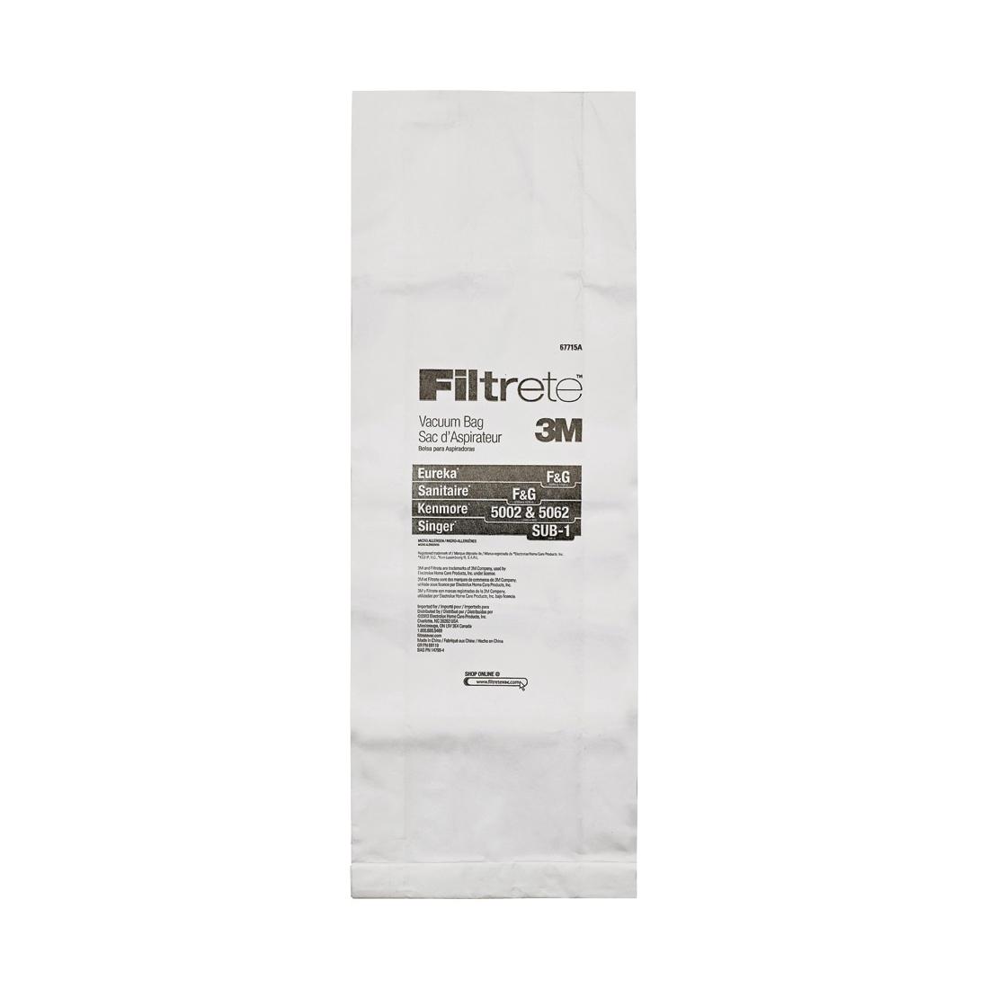 Picture of Filtrete 67715-6 Vacuum Cleaner Bag