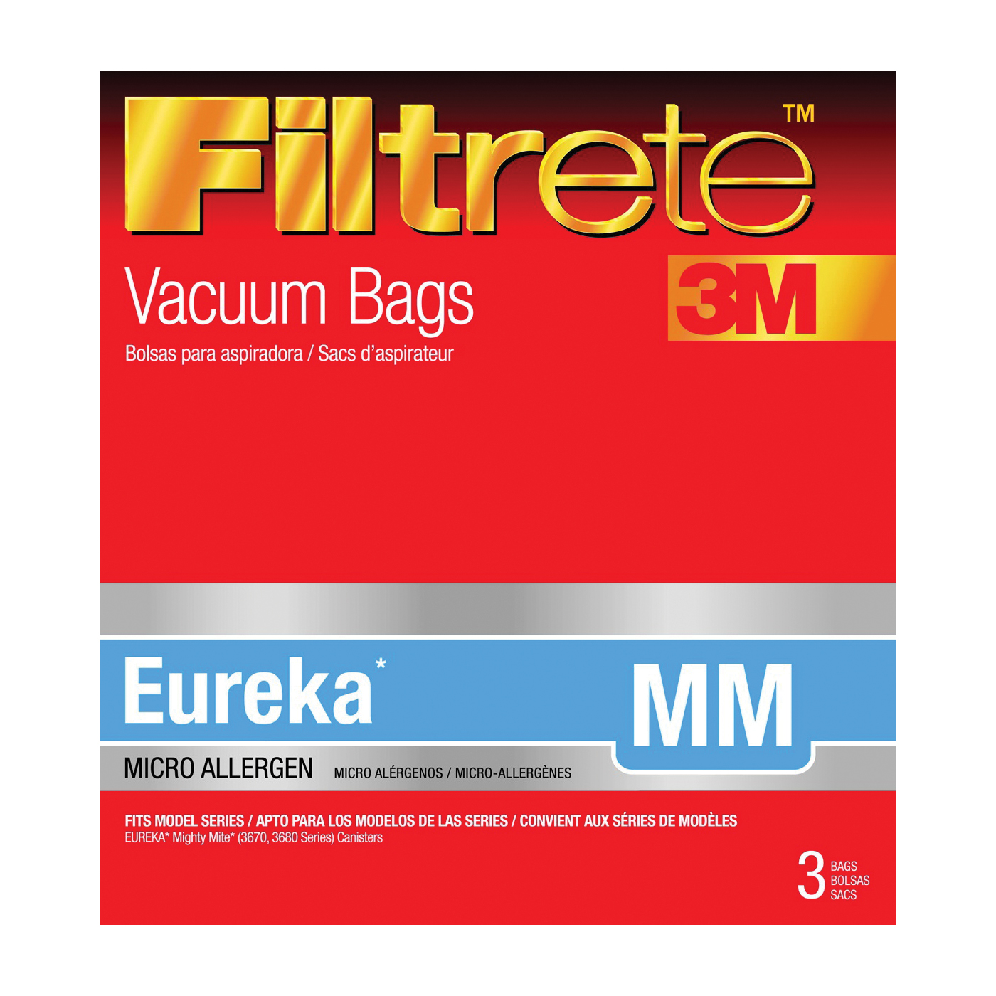 Picture of Filtrete 67703A-6 Vacuum Cleaner Bag