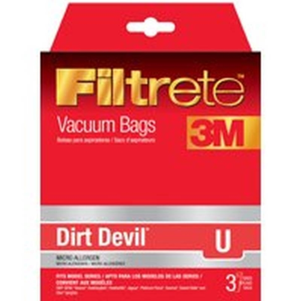 Picture of Filtrete 65703A-6 Vacuum Cleaner Bag