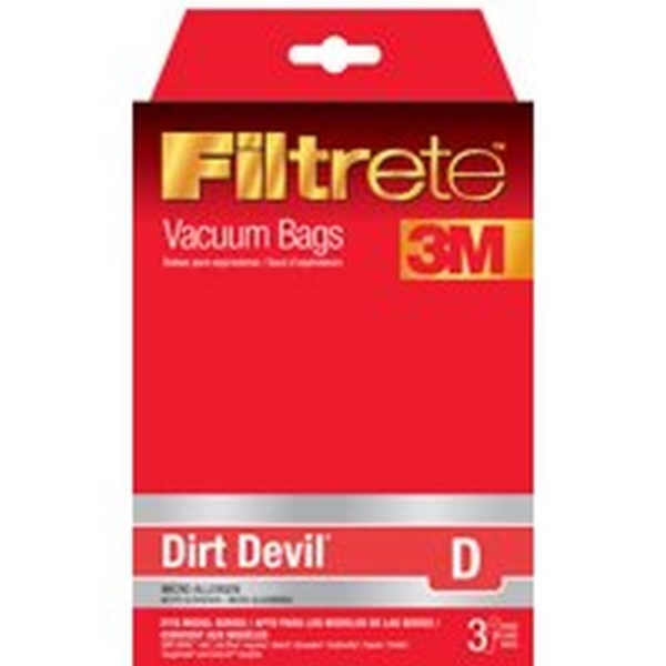 Picture of Filtrete 65701A-6 Vacuum Cleaner Bag