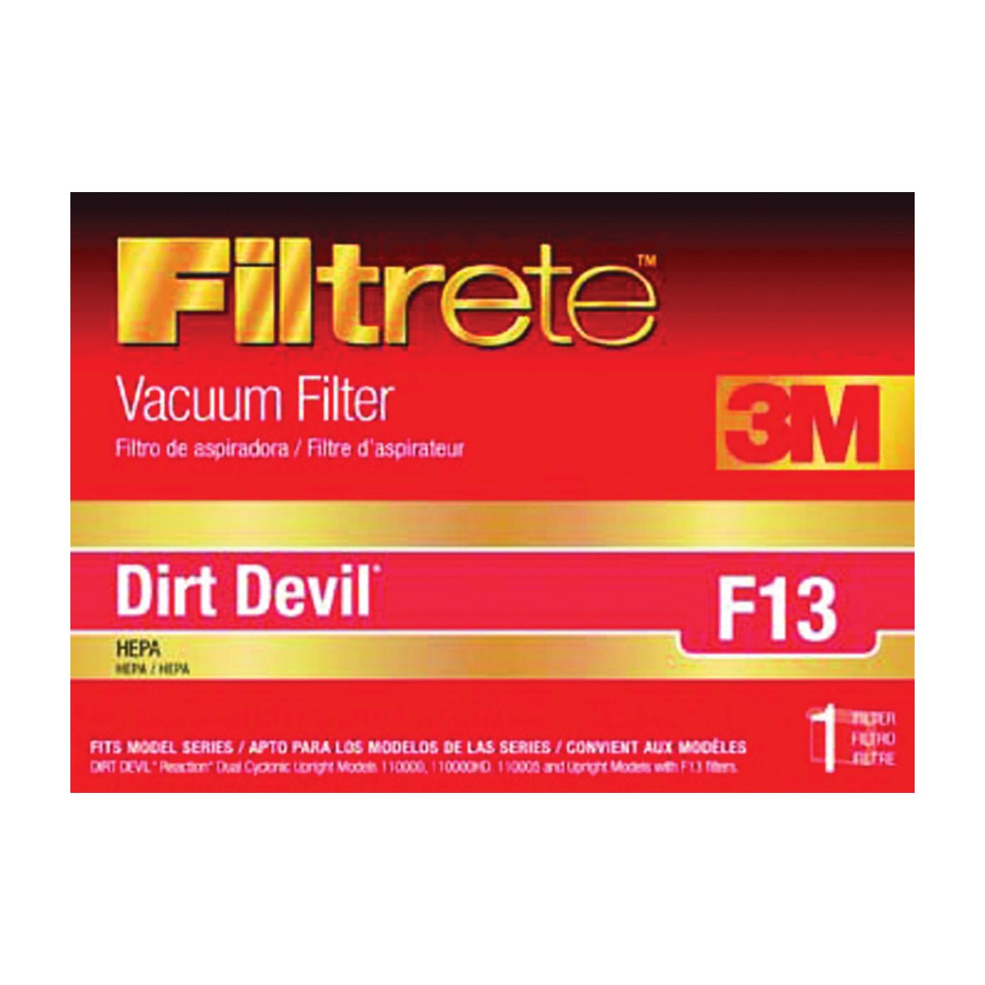 Picture of Filtrete 65813-2 Vacuum Cleaner Filter