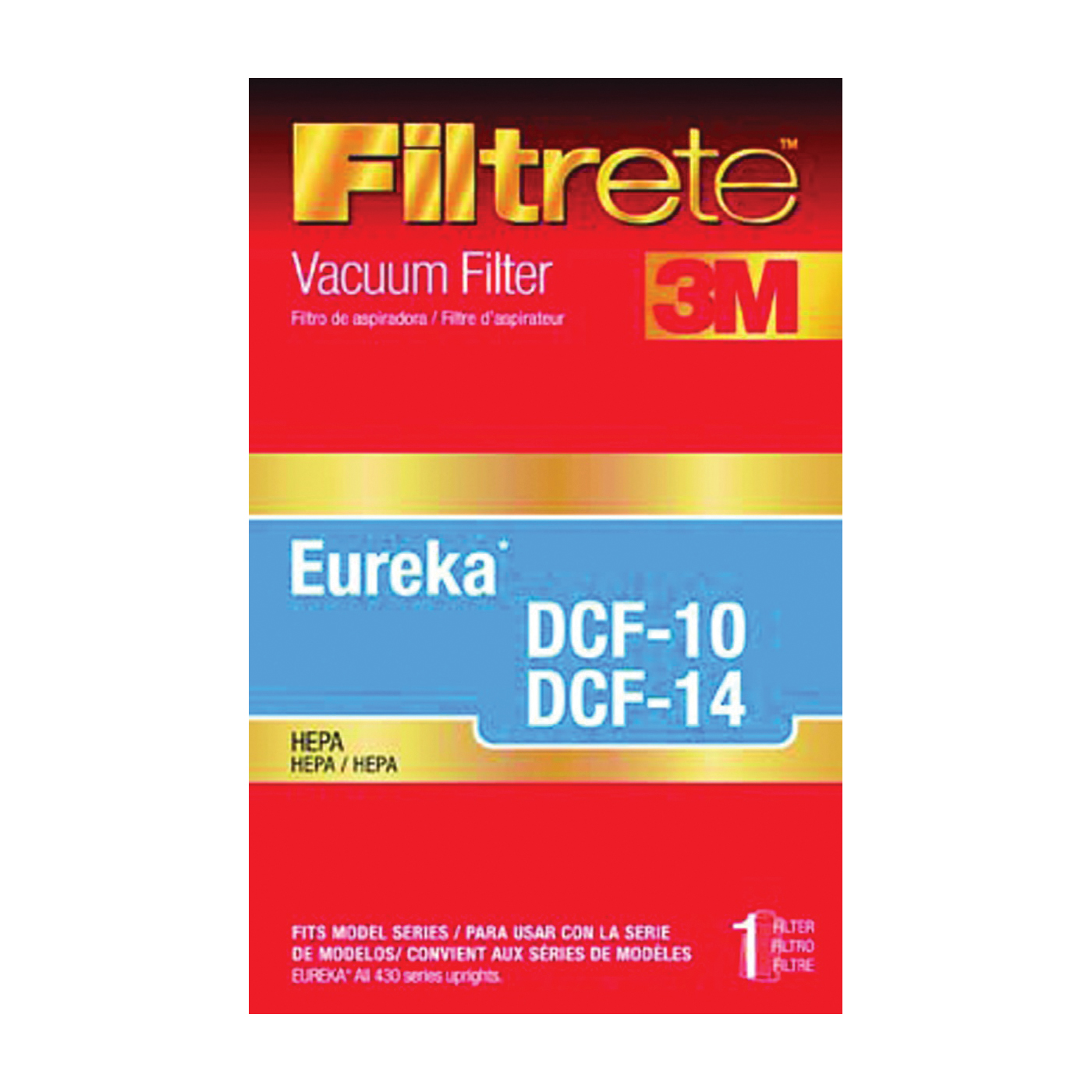 Picture of Filtrete 67800B-2/A-2 Vacuum Cleaner Filter