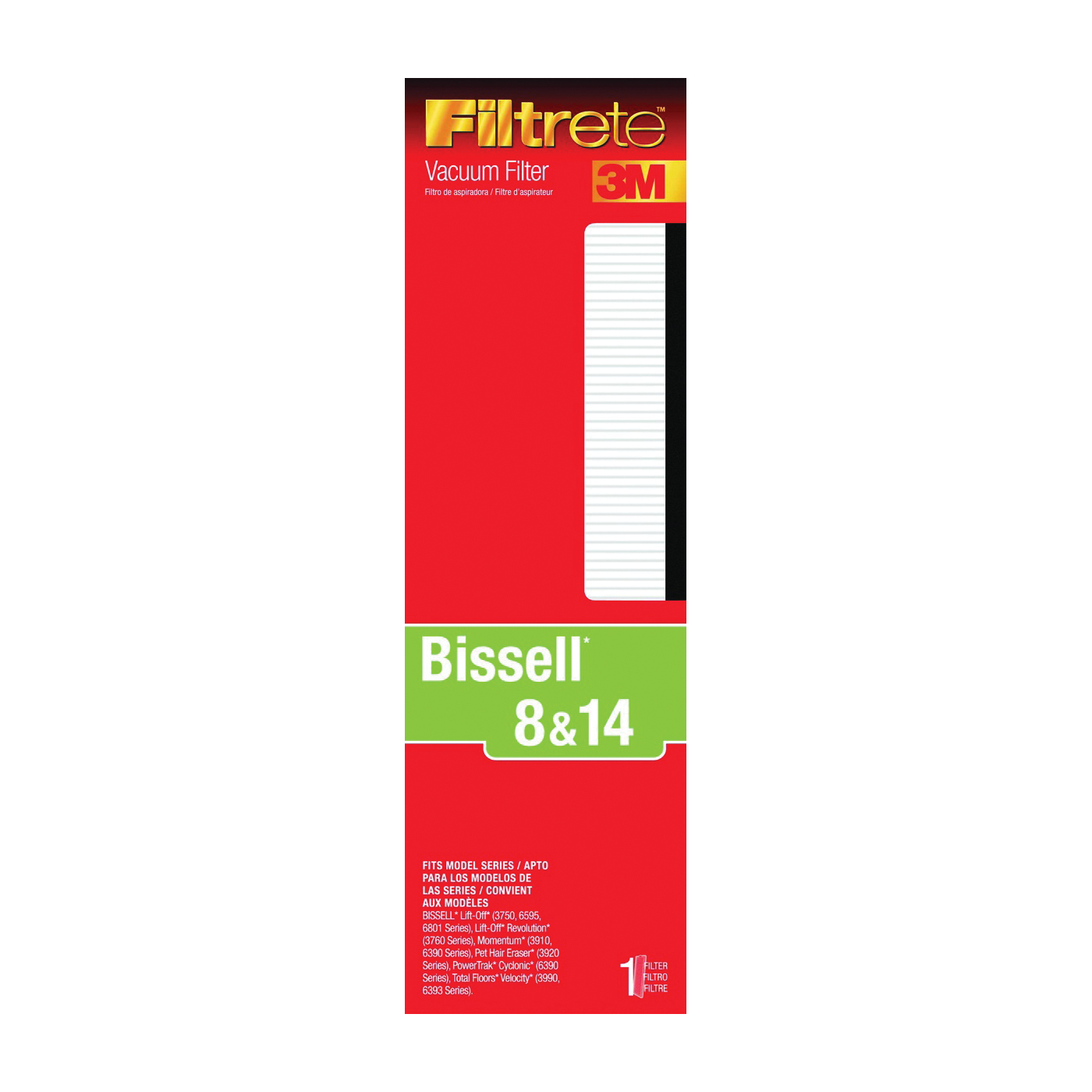Picture of Filtrete 66808A-4 Vacuum Cleaner Filter