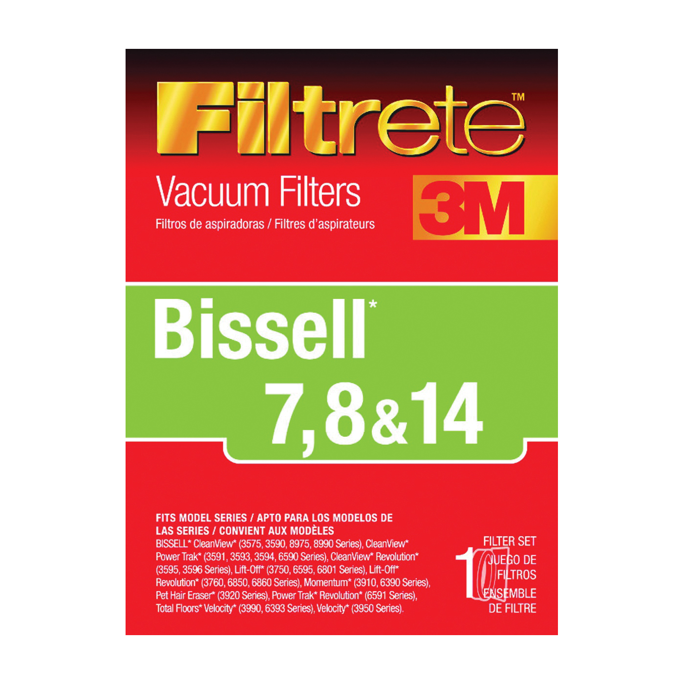 Picture of Filtrete 66878A-4 Vacuum Cleaner Filter