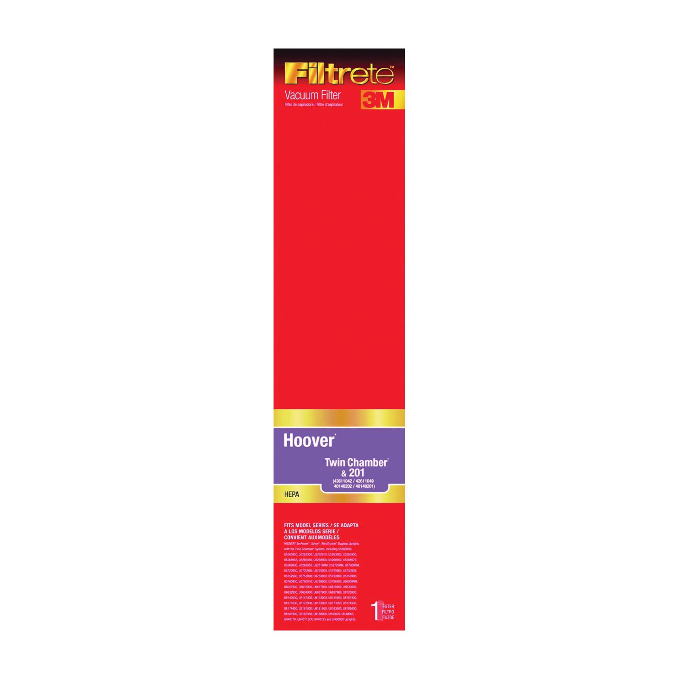 Picture of Filtrete 64805B-2 Vacuum Cleaner Filter