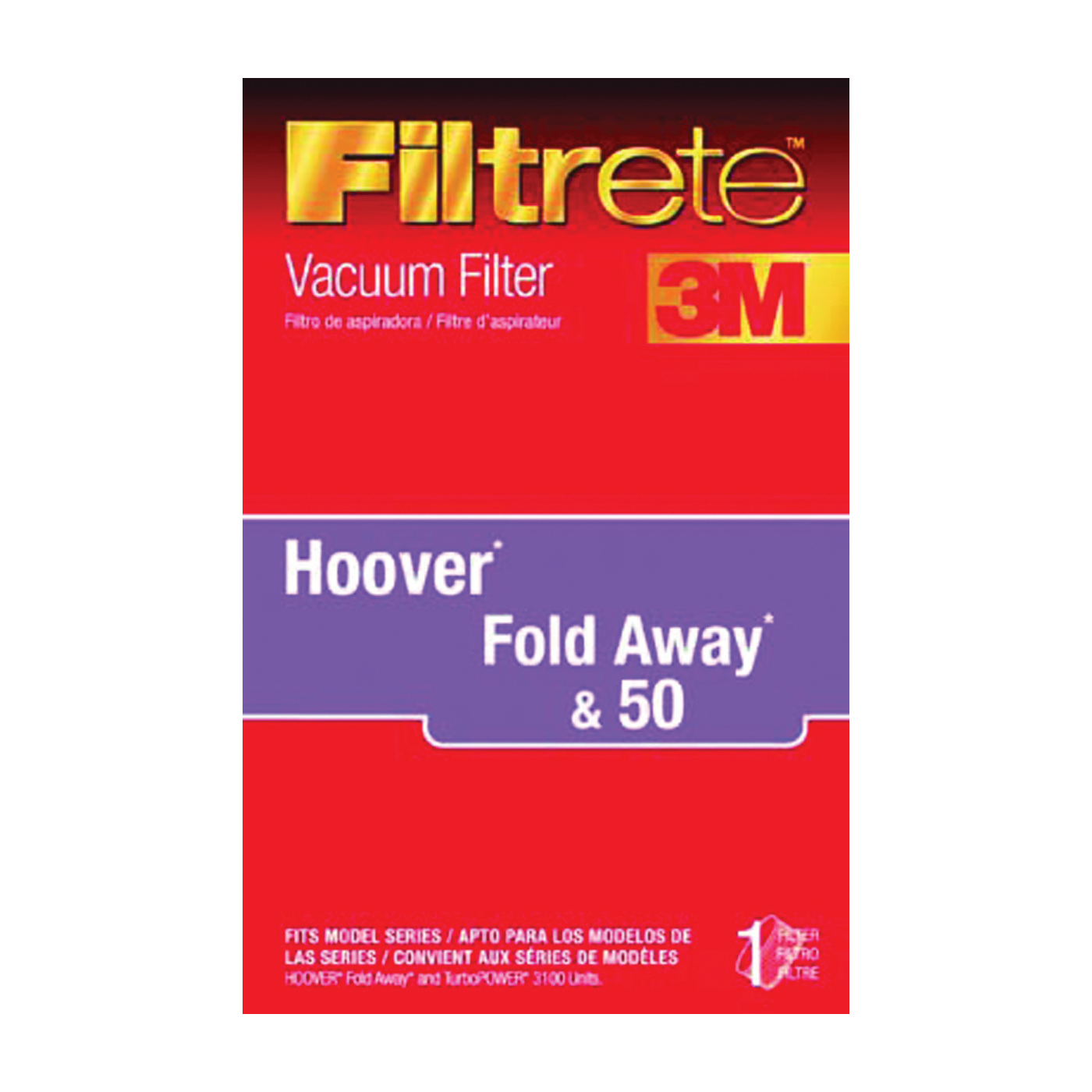 Picture of Filtrete 64801A-2 Vacuum Cleaner Filter