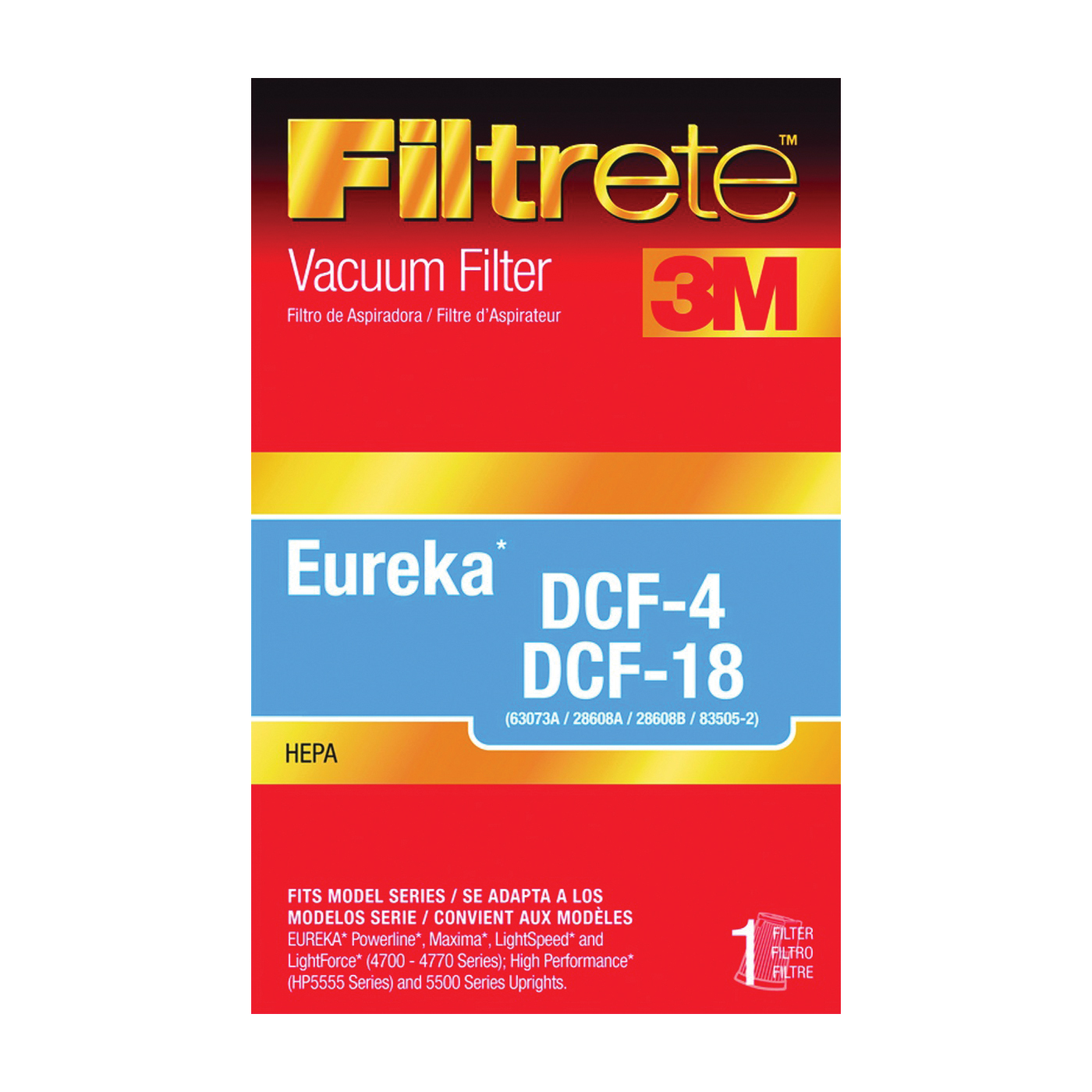 Picture of Filtrete 67814A-2 Vacuum Cleaner Filter