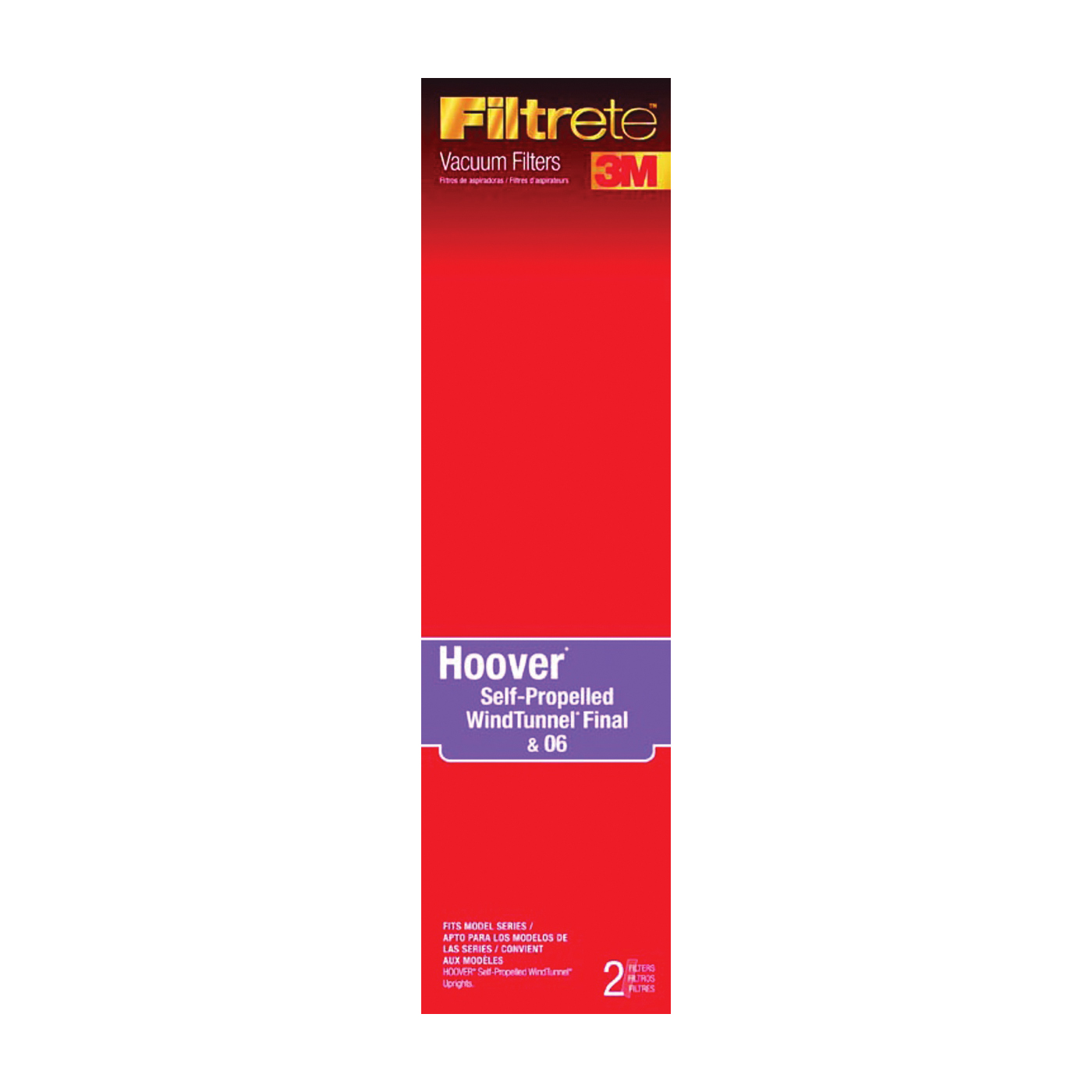 Picture of Filtrete 64804A-4 Vacuum Cleaner Filter