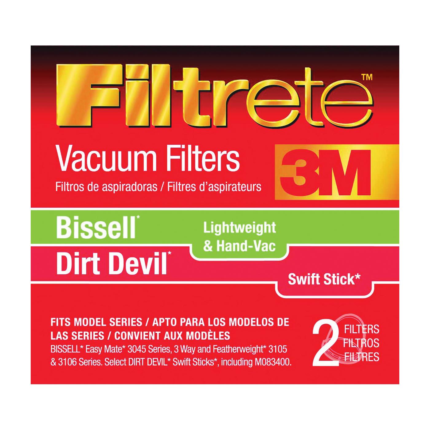 Picture of Filtrete 66829-4 Vacuum Cleaner Filter