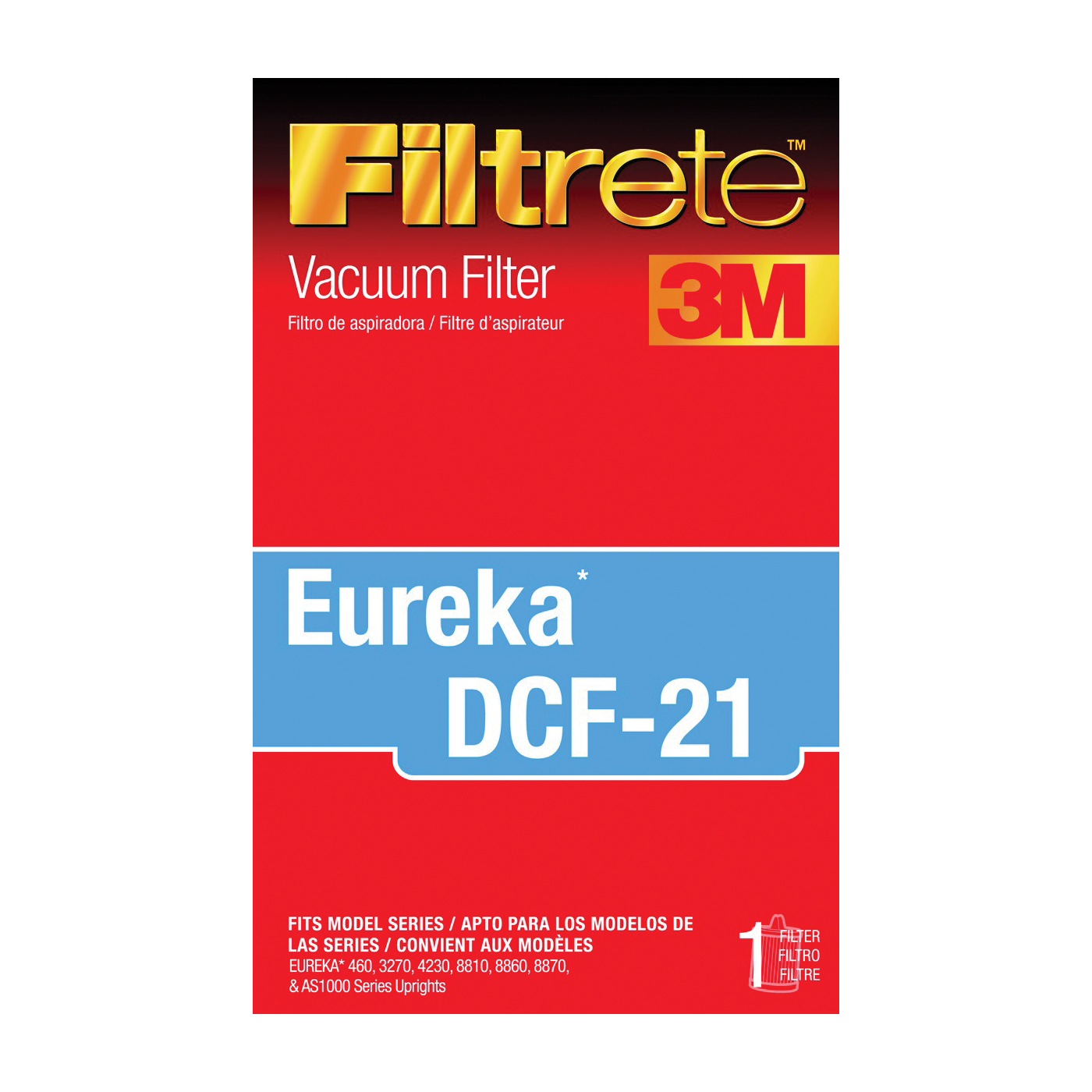 Picture of Filtrete 67821A-2 Vacuum Cleaner Filter