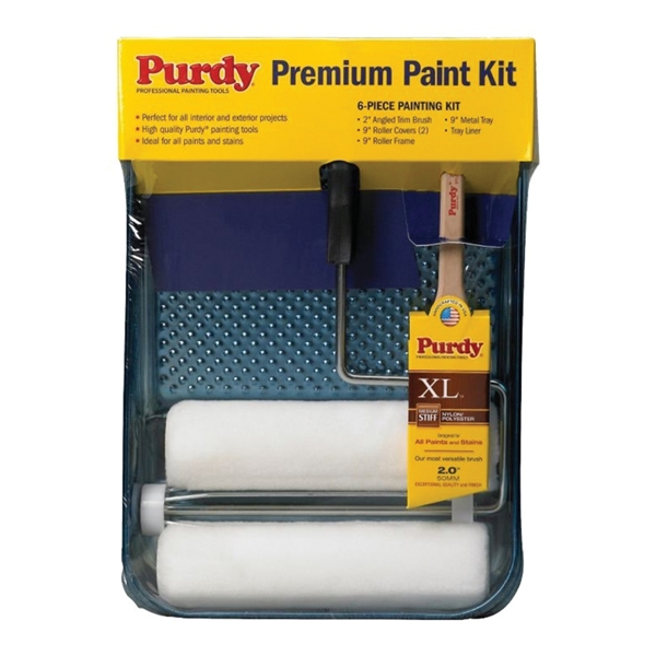 Picture of Purdy White Dove 14C811000 Painters Roller and Tray Set, 6-Piece