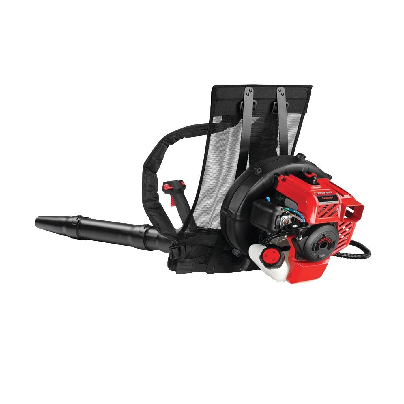 Picture of Troy-Bilt 41BR2BEG766 Backpack Leaf Blower, Gas, 27 cc Engine Displacement, 2-Cycle Engine, 445 cfm Air