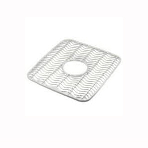Picture of Rubbermaid 129506CLR Sink Protector Mat, 12.48 in L, 11.48 in W, 0.39 in Thick, Clear