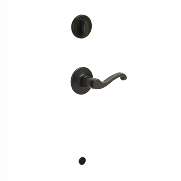 Picture of Schlage J Series JH59LAS716LH Inside Handleset, 3 Grade, Brass, Aged Bronze, Left Hand